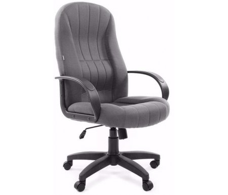 Компьютерное кресло Chairman 685 TW-12 серыйКомпьютерные кресла<br>Отличительной чертой офисного кресла CH 685 являются ярко выраженная область поясничной поддержки и продольные рельефы на спинке и сидении кресла. Эргономичные формы, практичные материалы и возможность использования ее как в классических, так и современных интерьерах делают модель привлекательной для руководителей, ценящих надежность, удобство и функциональность рабочего места. Широкий спектр современных обивочных материалов этой модели позволяет успешно решать задачи сочетаемости с самыми разнообразными интерьерными разработками. <br><br> <br>Материал подлокотников: пластик.<br> <br>Материал крестовины : пластик.<br> <br>Материал обивки: ткань.<br> <br> <br>  <br> <br> <br>Кресло поставляется в разобранном виде.<br>