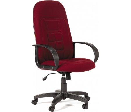 Компьютерное кресло Chairman 727 бордовый 10-361Компьютерные кресла<br>Компьютерное кресло СН 727 комплектуется:<br> <br>- механизмом регулировки кресла по высоте;<br> <br>- механизмом наклона и фиксации кресла в рабочем положении;<br> <br>- механизмом регулировки жесткости качания.<br>