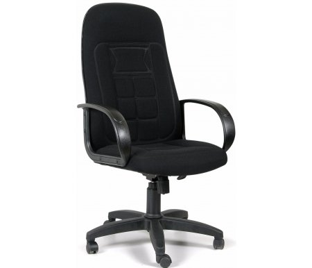 Компьютерное кресло Chairman 727 черный 10-356Компьютерные кресла<br>Компьютерное кресло СН 727 комплектуется:<br> <br>- механизмом регулировки кресла по высоте;<br> <br>- механизмом наклона и фиксации кресла в рабочем положении;<br> <br>- механизмом регулировки жесткости качания.<br>