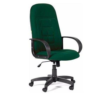 Компьютерное кресло Chairman 727 темно-зеленый 10-120Компьютерные кресла<br>Компьютерное кресло СН 727 комплектуется:<br> <br>- механизмом регулировки кресла по высоте;<br> <br>- механизмом наклона и фиксации кресла в рабочем положении;<br> <br>- механизмом регулировки жесткости качания.<br>