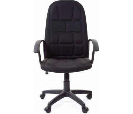 Компьютерное кресло Chairman 737 черный (TW-11)Компьютерные кресла<br>Стул имеет триплированную (трехслойную) обивку с термоклишированием. Покрытие тыльной стороны спинки - экокожа. Крестовина кресла выдерживает нагрузку до 700 кг.<br>