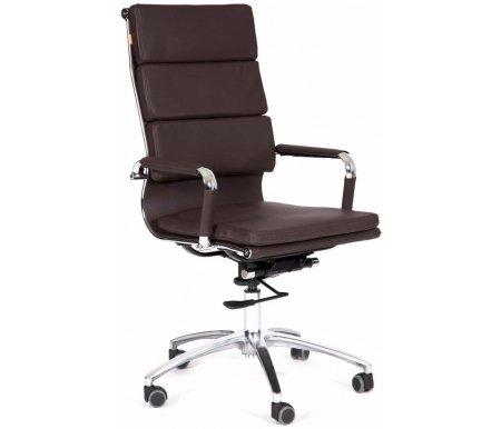 Компьютерное кресло Chairman 750 коричневоеКомпьютерные кресла<br>Механизм регулировки жесткости качания: есть.<br> <br>Материал подлокотников: металл с накладками из экокожи.<br> <br>Материал крестовины: хромированный металл.<br> <br>Материал обивки: экокожа.<br> <br>Механизм качания: есть.<br> <br>Объем упаковки: 0,35 куб. м.<br> <br>Вес: 11,1 кг.<br>