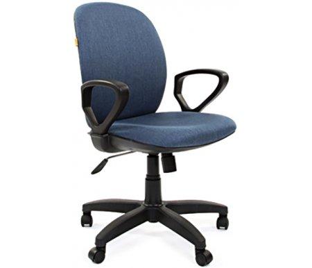 Компьютерное кресло Chairman 803 Ткань синяя (SX79-19)Компьютерные кресла<br>В данной модели присутствует механизм качания с возможностью фиксации кресла в рабочем положении.<br><br><br>Материал подлокотников: пластик.<br><br>Материал крестовины: пластик.<br>