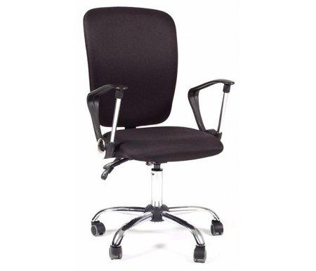 Компьютерное кресло Chairman 9801 хром черный 15-21Компьютерные кресла<br>Офисное кресло СН 9801 хром совмещает в себе классические черты операторского кресла и элементы стиля Hi-Tech. Кресло снабжено асинхронным механизмом качания, обеспечивающим независимое изменение угла наклона спинки и сидения. <br> Объем упаковки -0,11 куб. м<br> <br>Вес - 16,5 кг.<br> <br>Стул поставляется в разобранном виде.<br>