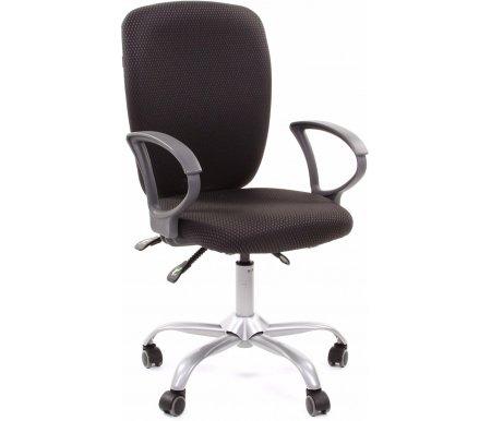 Компьютерное кресло Chairman 9801 серое JP 15-1Компьютерные кресла<br>Кресло поставляется в разобранном виде.<br> <br>Материал подлокотников:пластик.<br> <br>Материал крестовины:металл с напылением под серебро.<br> <br>Материал обивки: ткань.<br> <br>Механизм качания: есть.<br> <br>Вес:15,5 кг.<br>