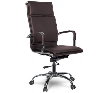 Купить Компьютерное кресло College, College XH-617 коричневое, Китай, коричневый / хром