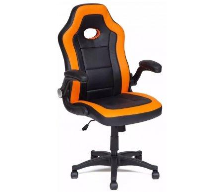 Купить Компьютерное кресло Тетчер, Denton черное / оранжевое, Китай, black-orange / черный-оранжевый