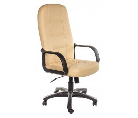 Компьютерное кресло «Девон» (Devon) бежевое / бежевое перфорированноеКомпьютерные кресла<br>-Кресло «Девон» идеально подходит людям, которые проводят много времени за компьютером и чувствуют напряжение в спине.<br> <br>  -Мягкое сидение и спинка позволяет достичь максимальное удовольствие и расслабление.<br> <br>  -Помимо повышенного комфорта, кресло поможет вам подчеркнуть Ваш вкус.<br> <br>  - Материал крестовины: Пластик<br> <br>  - Материал обивки: Экокожа<br> <br>  - Материал подлокотников: Пластик<br> <br>  - Механизм качания: с фиксацией в крайних положениях<br> <br>  - Подголовник: Без подголовника<br> <br> <br> <br>    <br>   <br> <br>Максимальная высота стула - 135 см.<br>