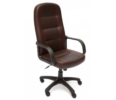 Купить Компьютерное кресло Тетчер, «Девон» (Devon) коричневое / коричневое перфорированное, коричневый (36-36) / коричневый перфорированный 2 tone (36-36/06)