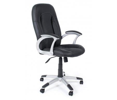 Компьютерное кресло Franceso (Франческо) черный / черный перфорированныйКомпьютерные кресла<br><br>