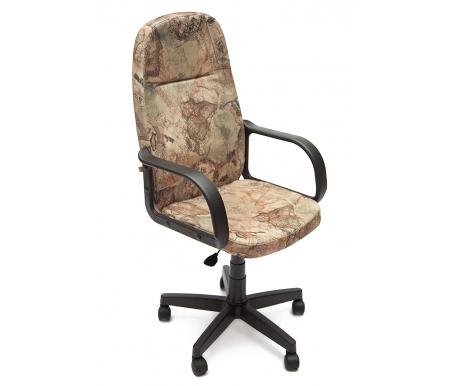 Компьютерное кресло Лидер (Leader) карта на бежевомКомпьютерные кресла<br>- Материал крестовины: Пластик<br>   <br>    - Материал обивки: Ткань<br>   <br>    - Материал подлокотников: Пластик<br>   <br>    - Механизм качания: без механизма качания кресла<br>   <br>    - Подголовник: Без подголовника<br>   <br>    Максимальная высота - 125 см.<br>