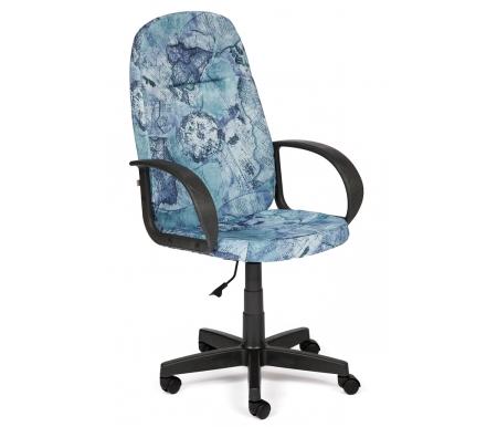 Компьютерное кресло Лидер (Leader) карта на синемКомпьютерные кресла<br>- Материал крестовины: Пластик<br>   <br>    - Материал обивки: Ткань<br>   <br>    - Материал подлокотников: Пластик<br>   <br>    - Механизм качания: без механизма качания кресла<br>   <br>    - Подголовник: Без подголовника<br>   <br>    Максимальная высота - 125 см.<br>