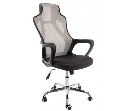 Компьютерное кресло Woodville, Black plastic / black / grey, Local черное / серое