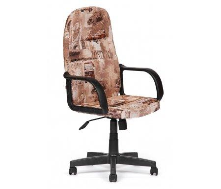 Компьютерное кресло Madrid обивка ЛондонКомпьютерные кресла<br>- Материал крестовины: Пластик<br>   <br>    - Материал обивки: Ткань<br>   <br>    - Материал подлокотников: Пластик<br>   <br>    - Механизм качания: без механизма качания кресла<br>   <br>    - Подголовник: Без подголовника<br>   <br>    Максимальная высота - 125 см.<br>