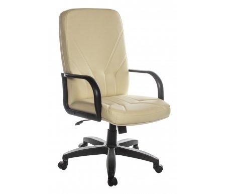 Компьютерное кресло Менеджер Стандарт бежевоеКомпьютерные кресла<br>Материал подлокотников: пластик. <br>Материал крестовины: пластик (цельнолитый).<br> <br>Материал обивки: кожзаменитель.<br> <br>Вес: 20 кг.<br>