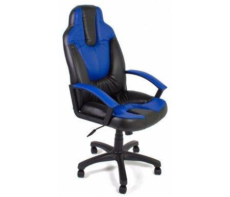 Купить Компьютерное кресло Тетчер, «НЭО 2» (Neo 2) чёрный / синий, черный / синий