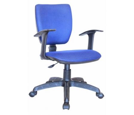 Компьютерное кресло Нота Т синееКомпьютерные кресла<br>Материал подлокотников: пластик.<br>Материал крестовины: полиамид (цельнолитый).<br><br>Материал: ткань.<br><br>Вес: 10,5 кг.<br>