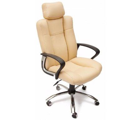 Купить Компьютерное кресло Тетчер, «Оксфорд» (Oxford) бежевый / экокожа