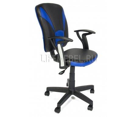 Компьютерное кресло «Остин» (Ostin)Компьютерные кресла<br>Материал крестовины: пластик. <br>Материал обивки: экокожа.<br> <br>Материал подлокотников: пластик.<br> <br>Механизм качания: отсутствует.<br>