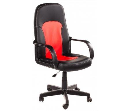 Компьютерное кресло «Парма» (Parma) черное / красноеКомпьютерные кресла<br>Дизайн кресла для руководителя «Парма» отличается, скорее, не роскошью, а подчеркнуто «рабочим» стилем. Это кресло оценят те, кому важны результат, комфортность работы, кто занят делом, а не стремлением произвести эффект. Кресло для работы — вот принцип представленной модели, который раскрывается, прежде всего, в конструкции — эргономичной, продуманной до мелочей. Такая конструкция направлена на предотвращение физической утомляемости. Применяемые материалы для декорирования кресла характеризуются повышенной прочностью.<br> <br> <br> <br>  Максимальная высота стула - 119 см.<br>