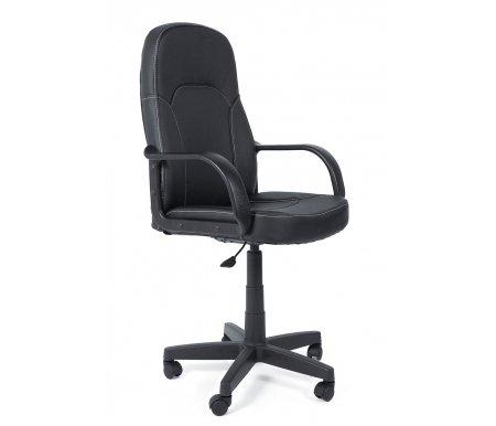 Компьютерное кресло «Парма» (Parma) черныйКомпьютерные кресла<br>Дизайн кресла для руководителя «Парма» отличается, скорее, не роскошью, а подчеркнуто «рабочим» стилем. Это кресло оценят те, кому важны результат, комфортность работы, кто занят делом, а не стремлением произвести эффект. Кресло для работы — вот принцип представленной модели, который раскрывается, прежде всего, в конструкции — эргономичной, продуманной до мелочей. Такая конструкция направлена на предотвращение физической утомляемости. Применяемые материалы для декорирования кресла характеризуются повышенной прочностью.<br> <br> <br> <br>  Максимальная высота стула - 119 см.<br>