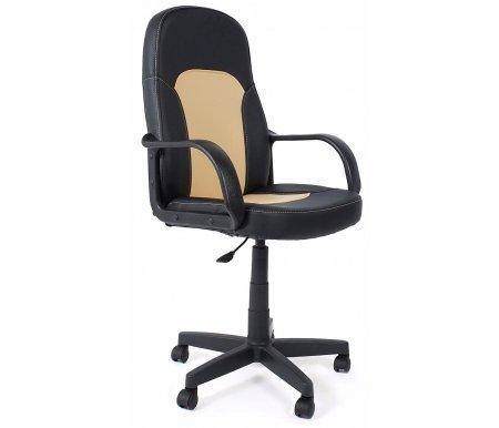 Здесь можно купить «Парма» (Parma) черный / бежевый  Компьютерное кресло Тетчер