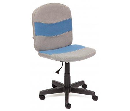Купить Компьютерное кресло Тетчер, Step С27 / С24 серое / синее, Россия, серый / синий