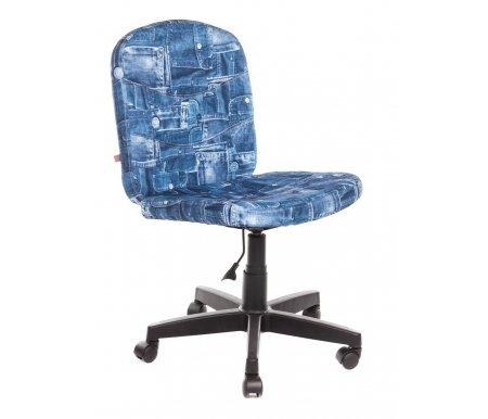 Компьютерное кресло Step (Стэп) джинсаКомпьютерные кресла<br>- Материал крестовины: Пластик<br>   <br>    - Материал обивки: Ткань<br>   <br>    - Механизм качания: без механизма качания кресла<br>   <br>    - Подголовник: Без подголовника<br>   <br>    Максимальная высота - 103 см.<br>