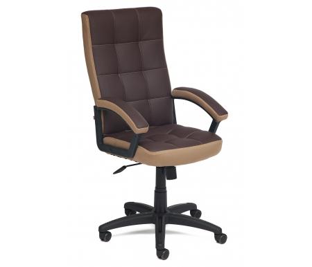 Купить Компьютерное кресло Тетчер, Trendy коричневое / бронзовое 36-36/21, Китай, коричневый / бронзовый