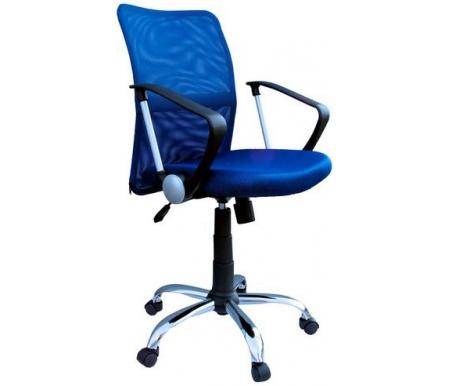 Купить Компьютерное кресло ДИК Мебель, Трикс Т-502-10 синее, Россия, синий