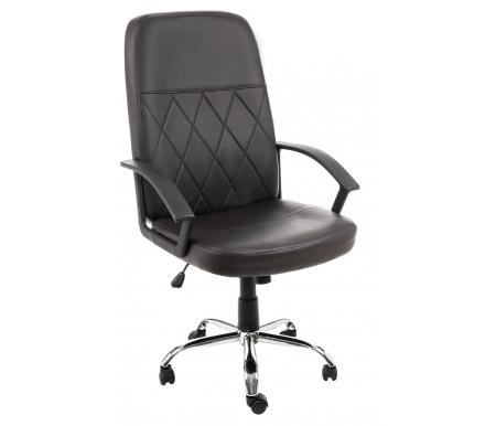 Купить Компьютерное кресло Woodville, Vinsent темно-коричневое, Китай, темно-коричневый