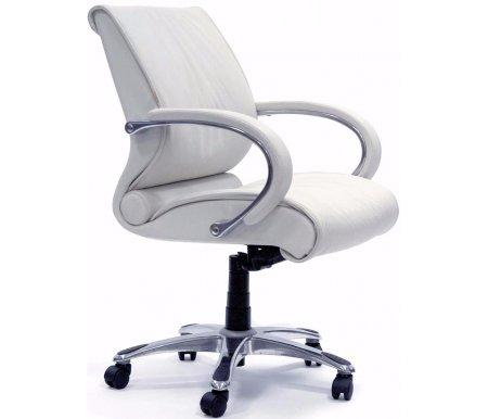 Компьютерное кресло Chairman 444 белоеКомпьютерные кресла<br>Модель офисного кресла CH 444 можно назвать универсальной. Подходит для использования как в переговорных группах, так и в качестве кресла для руководителей, предпочитающих более компактные решения. <br>Комплектация:<br> <br>- рычаг регулировки кресла по высоте;<br> <br>- рычаг регулировки наклона с фиксацией;<br> <br>- винт регулировки жесткости качания. <br>  <br>  <br>  Кресло поставляется в разобранном виде.<br> <br>  Объем упаковки - 0,21 куб.м.<br> <br>  Вес - 28,4 кг.<br> <br>   <br>    <br>   <br> <br>  Кресло изготовлено из натуральной кожи.<br> <br>  Ве<br>