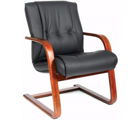 Компьютерное кресло Chairman 653VКомпьютерные кресла<br>Материал подлокотников: дерево.<br>Полозья: дерево.<br>