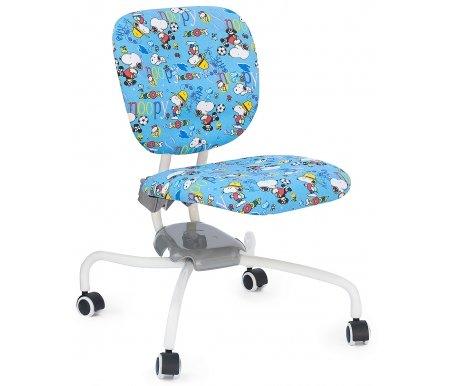 Кресло-трансформер детское ZR2013 blue snoopyКомпьютерные кресла<br>Материал сиденья: ткань. <br> Материал крестовины: металл. <br>Высота спинки: 36 см. <br>  Высота кресла: 68 - 82 см.<br>