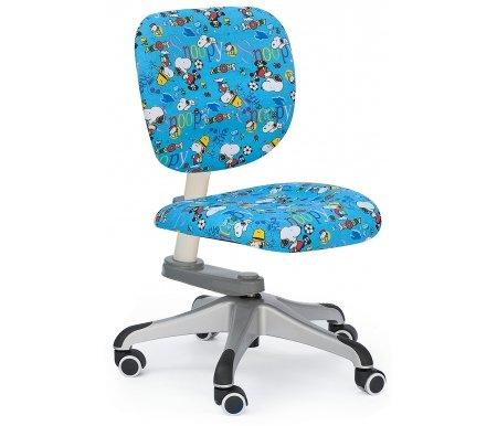 Кресло-трансформер детское ZR2014 blue snoopyКомпьютерные кресла<br>Материал сиденья: ткань. <br> Материал крестовины: пластик с напылением.<br>Высота спинки: 38 см. <br>  Высота кресла: 70-88 см.<br>