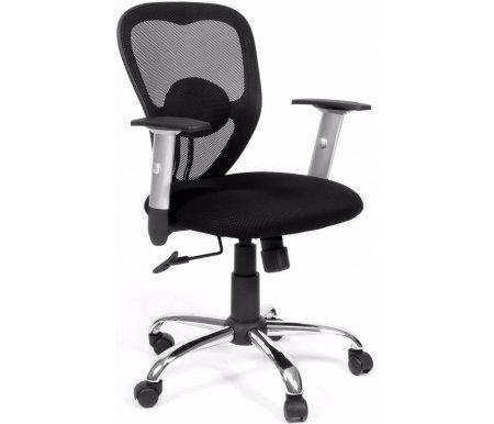 Компьютерное кресло Chairman 451 TW-11Компьютерные кресла<br>Современные износоустойчивые материалы спинки и сидения – ткань TW и сетчатый акрил, стильное сочетание серебристых и черных деталей, каплевидная форма спинки, оригинальное декоративное крепление валика поясничной поддержки, выполненное из хрома - вот характерные черты офисного кресла CH 451<br><br><br>Материал подлокотников: пластик.<br><br>Материал крестовины: хромированный металл.<br>Вес 12,4 кг. <br> <br>  <br> <br> <br>Кресло поставляется в разобранном виде.<br>
