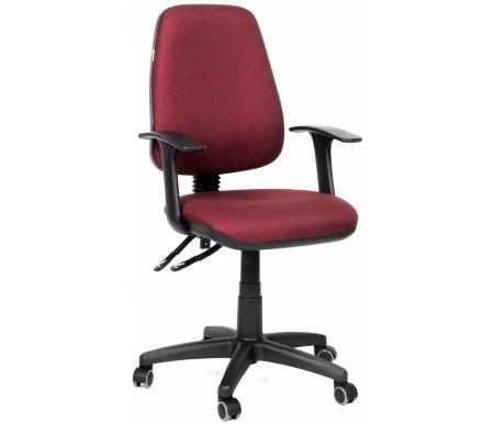 Компьютерное кресло Chairman 661 15-11Компьютерные кресла<br>Эргономичная спинка офисного кресла CH 661 с изменяемым углом наклона повторяет форму спины и, в сочетании с прочными Т-образными подлокотниками, позволяет сохранить правильное положение при сидении. Также спинка фиксируется в любом желаемом положении, что очень важно при длительной статичной работе. Обивка кресла – полиэстер. Это легкое быстросохнущее и износостойкое синтетическое волокно, которое прекрасно сохраняет форму, устойчиво к световому и тепловому воздействию. <br><br> <br>Материал подлокотников: пластик.<br> <br>Материал крестовины: пластик.<br> <br>Вес 12,7 кг.<br> <br> <br>  <br> <br> <br>Стул поставляется в разобранном виде.<br>
