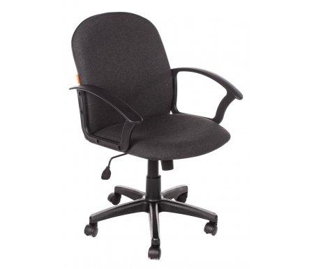 Компьютерное кресло Chairman 681 Cерая тканьКомпьютерные кресла<br>Кресло CH 681 комплектуется: <br>- механизмом регулировки кресла по высоте;<br> <br>- механизмом наклона и фиксации кресла в рабочем положении;<br> <br>- механизмом регулировки жесткости качания.<br> <br> <br>  <br> <br> <br>Кресло поставляется в разобранном виде.<br>
