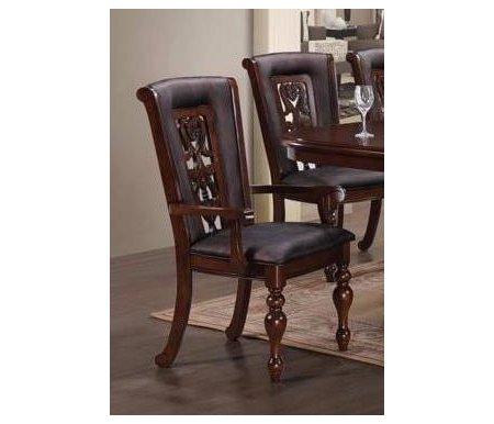 Кресло MK-4520-LW LUSA с мягким сиденьем и спинкойДеревянные стулья<br><br>
