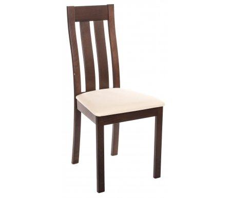 Стул EURO CB-2442YBH burn beech / SWIC-BeigeДеревянные стулья<br><br>