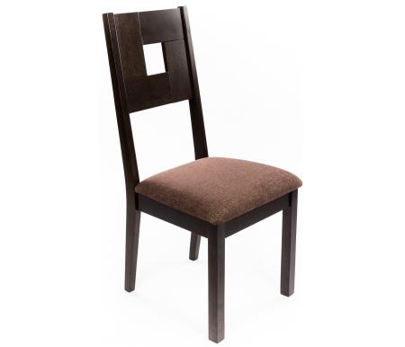 Стул GR CCRA-342AC8-S (WD)Деревянные стулья<br><br><br>Ширина: 42 см<br>Глубина: 56 см<br>Высота: 98 см<br>Материал: массив гевеи, ткань<br>Цвет дерева: WN DARK#1 (венге)
