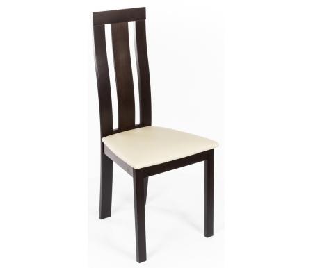 Стул MioДеревянные стулья<br>Ширина сиденья у основания спинки 32 см. <br><br> Ширина верхней части спинки 28 см. <br><br> Высота сиденья до обивки 44 см, толщина обивки 4 см. <br><br> <br><br> Деревянный стул с мягким сиденьем выполнен из массива гевеи. Оцените его комфорт и красоту на Вашей кухне.<br>
