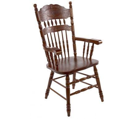 Стул 828 A темный дуб собранныйДеревянные стулья<br><br>