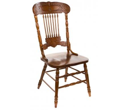 Стул 838 S золотисто-коричневый собранныйДеревянные стулья<br><br>