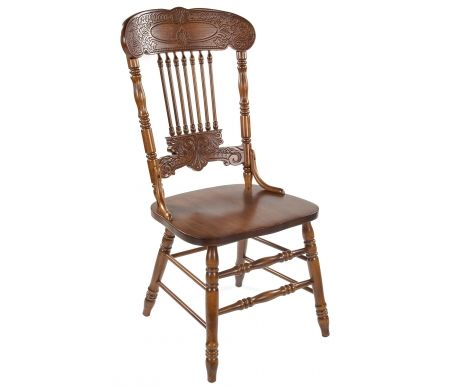 Стул 838 S темный дуб собранныйДеревянные стулья<br><br>