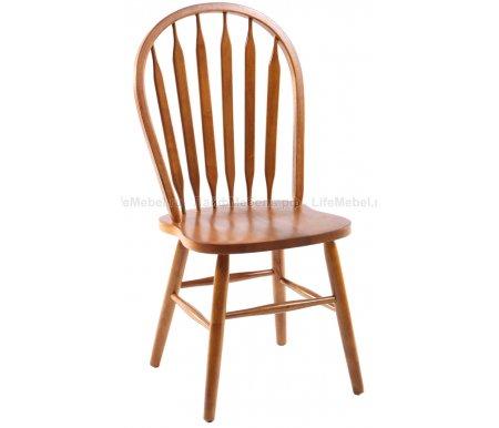 Стул 853SДеревянные стулья<br><br><br>Ширина сиденья: 44 см<br>Глубина сиденья: 45,5 см<br>Высота по спинке: 99 см<br>Материал: массив гевеи<br>Цвет дерева: дуб