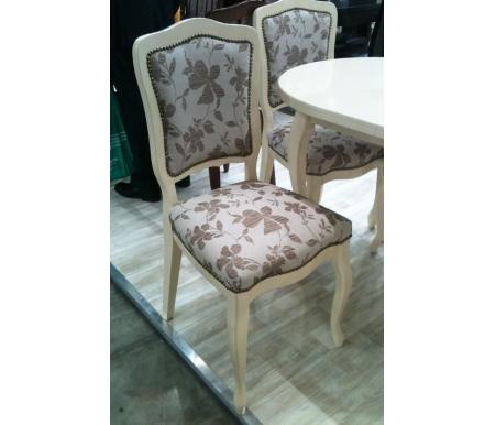 Стул Barok бежевый глянец / 522Деревянные стулья<br><br>