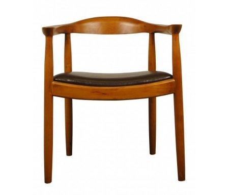 Стул CH-984Деревянные стулья<br><br><br>Ширина: 61 см<br>Глубина: 50 см<br>Высота: 70 см<br>Материал каркаса: нет данных<br>Материал обивки: кожа<br>Цвет: коричневый<br>Вес: 10 кг