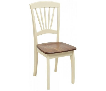 Стул Мебель Малайзии деревянный Jin D-2092D W cream / oak