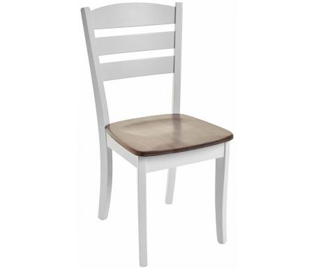 Стул Мебель Малайзии деревянный Jin D-214E W white / grey washed